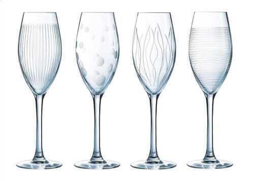Luminarc Lounge Club Champagneglas 22 Cl. - 4 Stk.