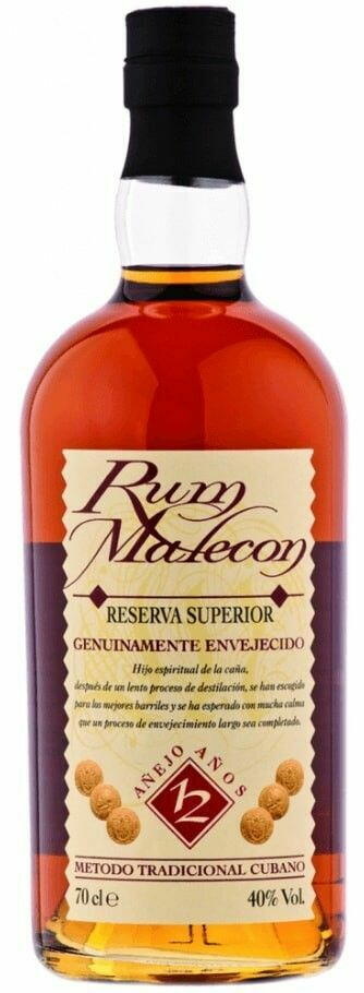 Image of   Malecon Reserva 12 Yo Fl 70