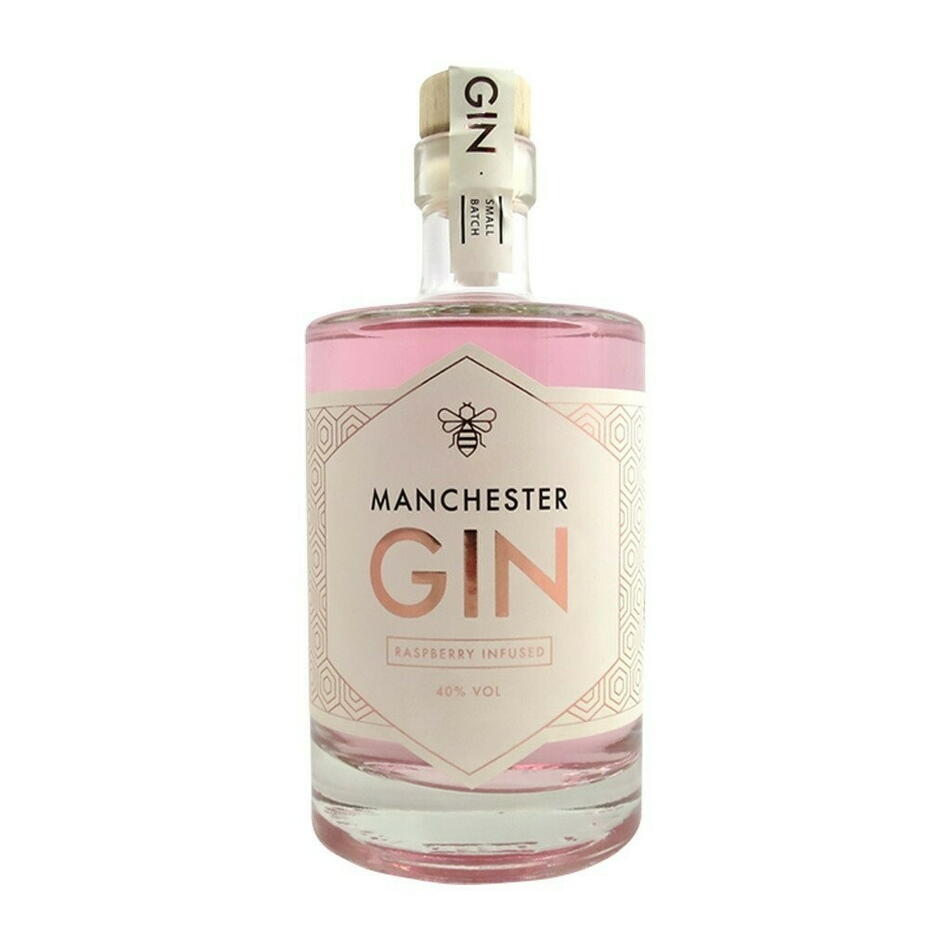 Manchester Raspberry Infused Gin Fl 70