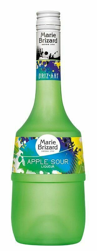 Image of   Marie Brizard Liqueur Apple Sour / Sure Æbler Fl 70