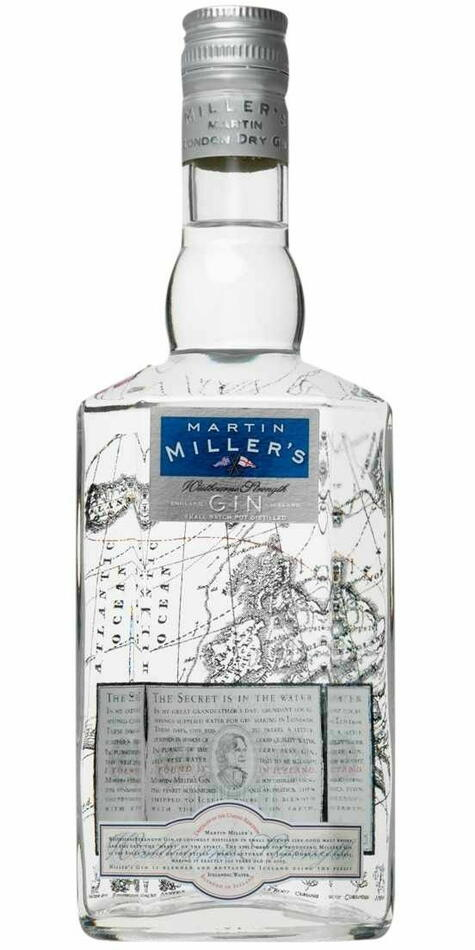 Martin Miller's Westbourne Strength Gin Fl 70