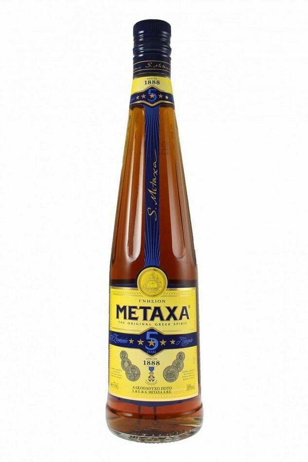 Image of   Metaxa Met 5 Star Fl 70