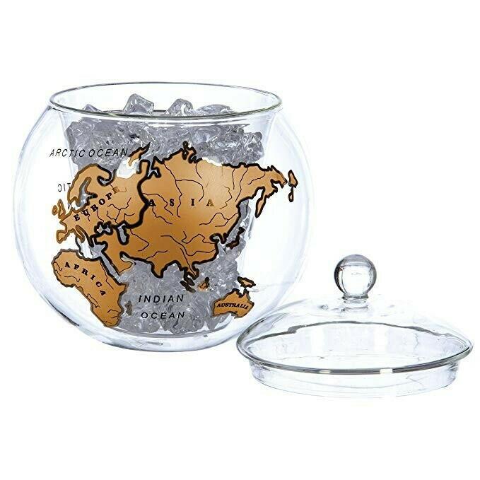 Billede af Mixology Vintage Globe Isspand Guld