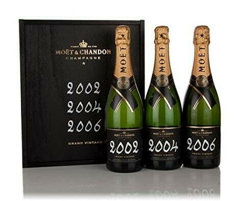 Moët & Chandon Grand Vintage Collection, 3x75cl Wb Kasse 75
