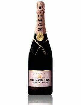 Image of   MoÃ«t & Chandon Champagne Rosé Imperial Fl 75