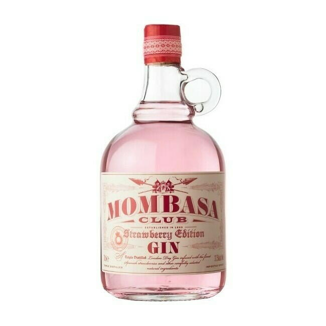 "Mombasa Club ""Strawberry Edition"" Gin Fl 70"