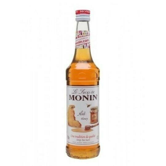 Image of   Monin Syrup Honey / Honning Fl 70