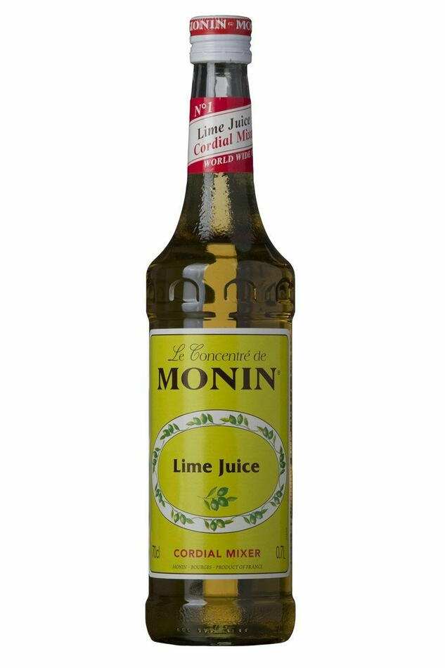 Image of   Monin Lime Juice Cordial Mixer Fl 70