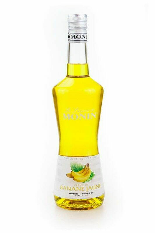Monin Liqueur Banane Jaune / Banan Fl 70