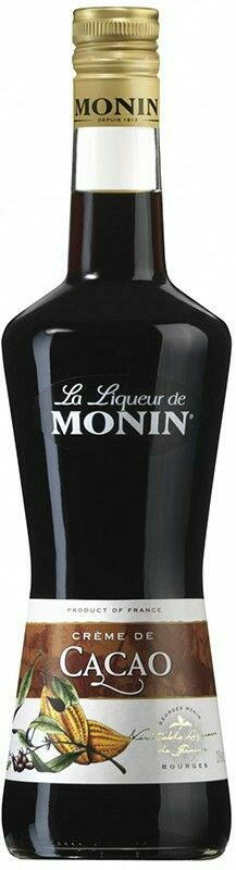 Monin Liqueur Cacao Brown Fl 70