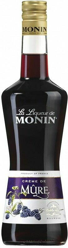 Monin Liqueur Creme De Mûre / Brombær Fl 70