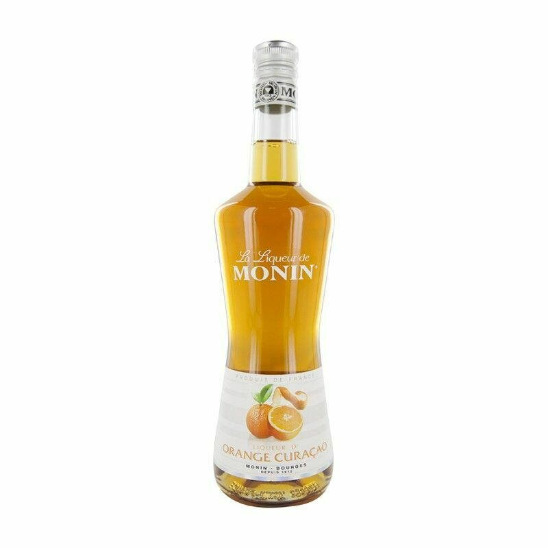Monin Liqueur Curacao Orange Fl 70