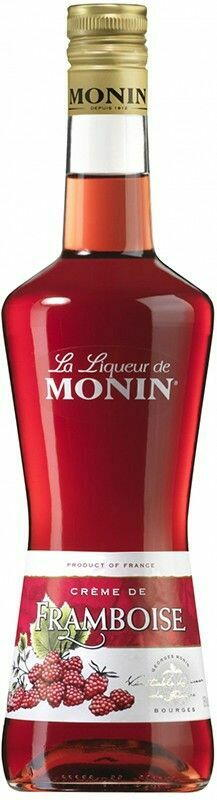 Monin Liqueur Framboise / Hindbær Fl 70