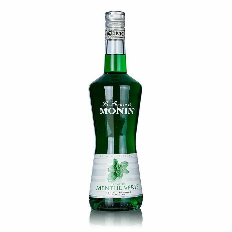 Monin Liqueur Menthe Verte / Pebermynte Fl 70