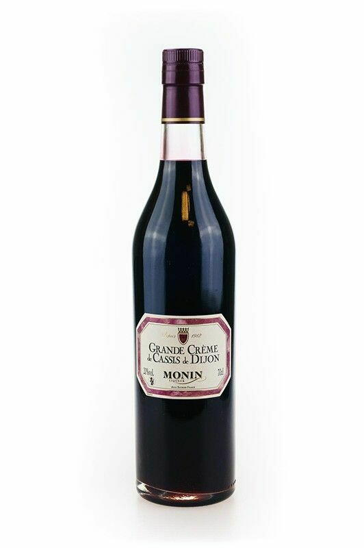 Monin Liqueur Seduction Cassis De Dijon Fl 70