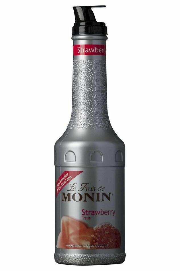 Monin Purémix Jordbær Fl 100