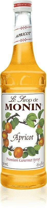 Monin Syrup Apricot /Abrikos Fl 70
