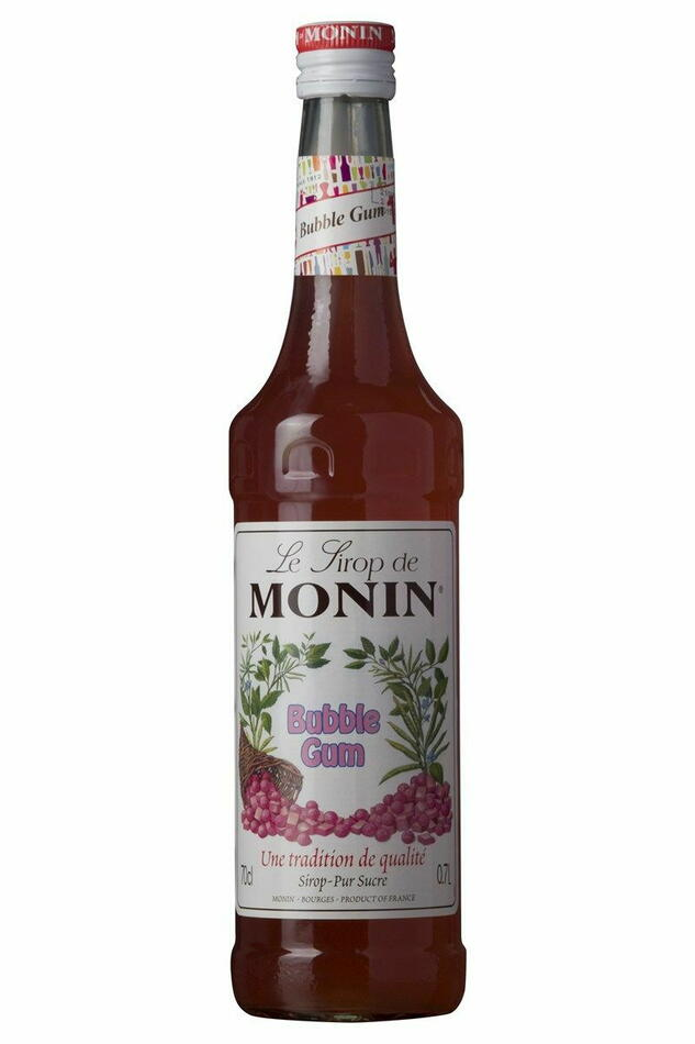 Monin Syrup Bubble Gum Fl 70