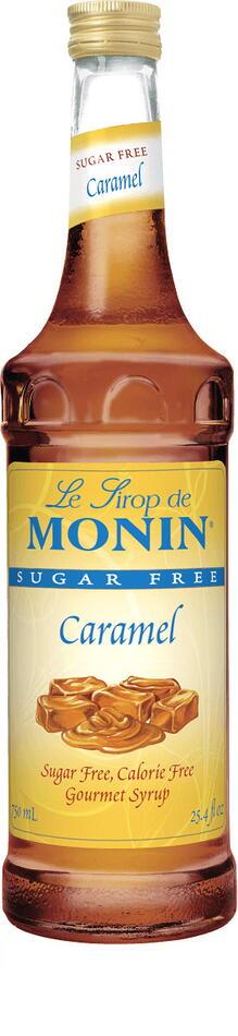 Monin Syrup Caramel / Karamel, Sukkerfri Fl 70