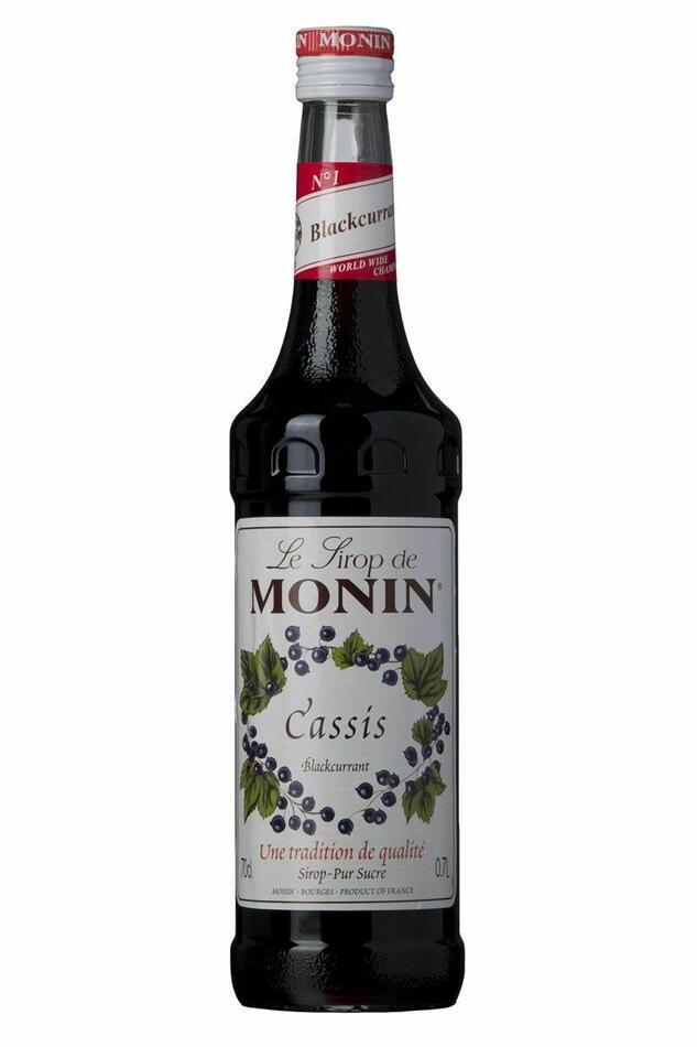 Monin Syrup Cassis / Solbær Fl 70