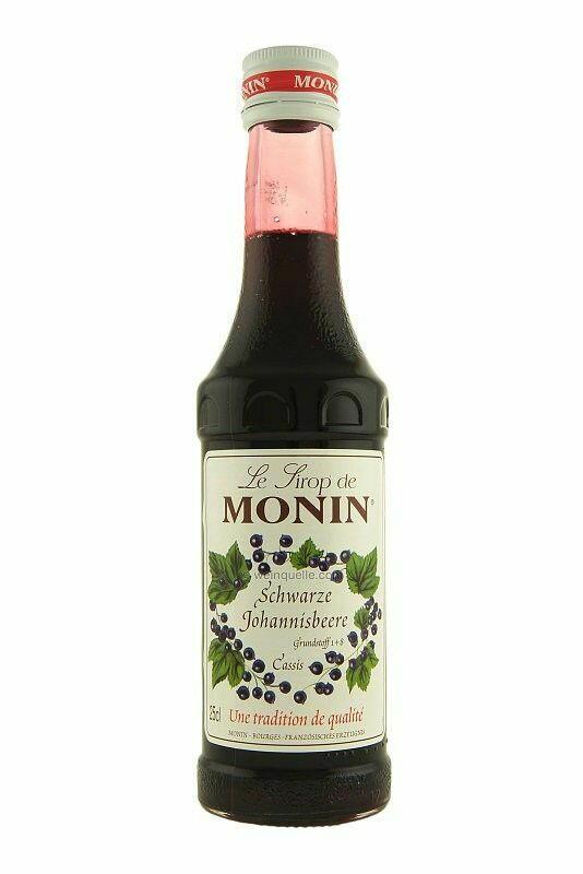 Monin Syrup Cassis / Solbær Fl 25