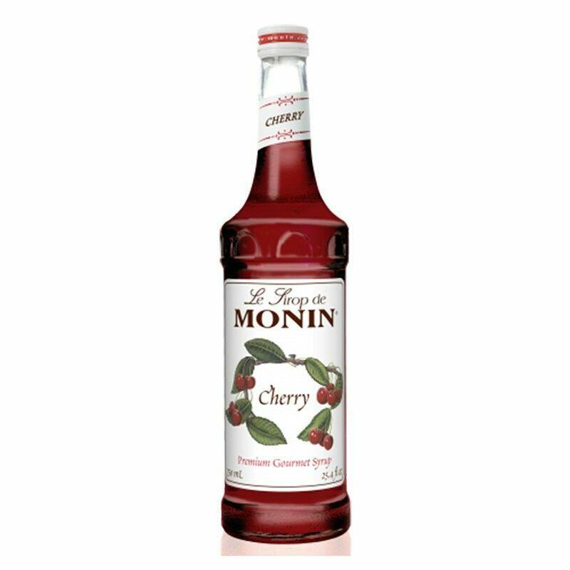 Monin Syrup Cherry / Kirsebær Fl 70
