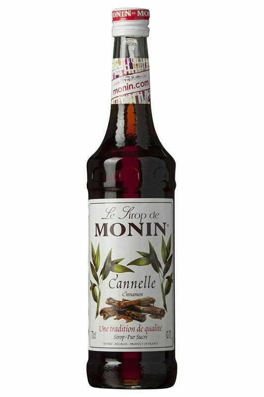 Image of   Monin Syrup Cinnamon / Kanel Fl 70