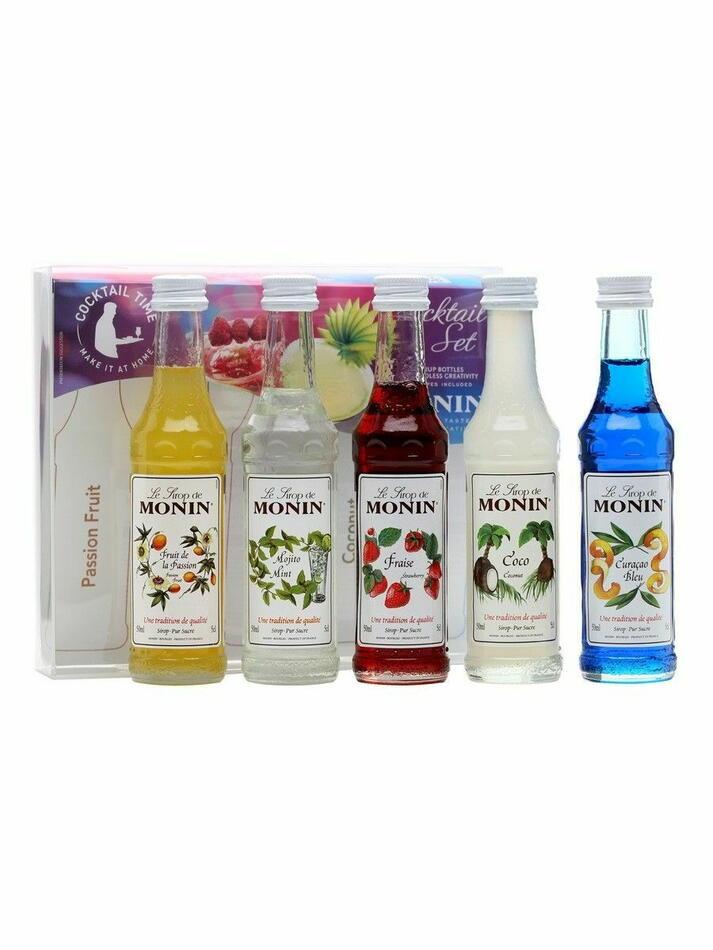 Image of   Monin Syrup Cocktail Mini Set