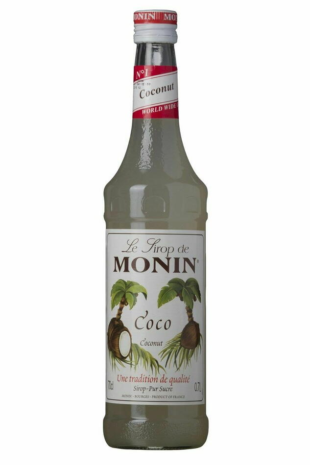 Image of   Monin Syrup Coconut / Kokos Fl 70