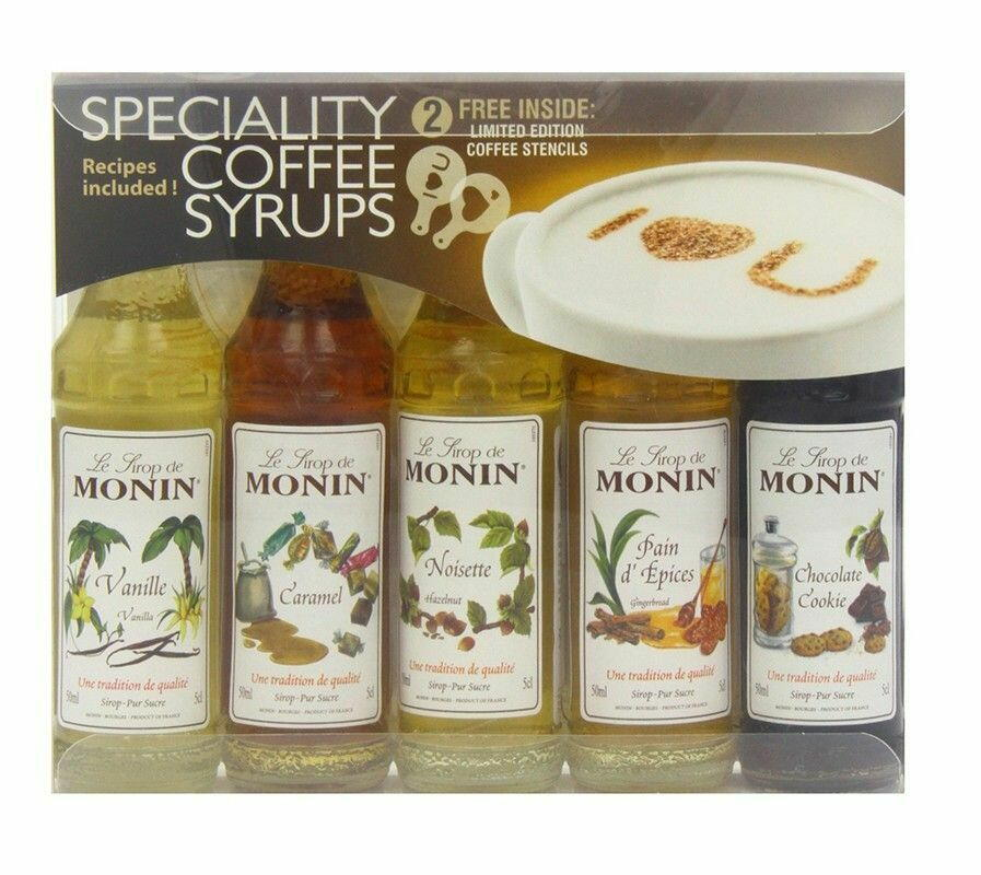 Monin Syrup Coffee Mini Set