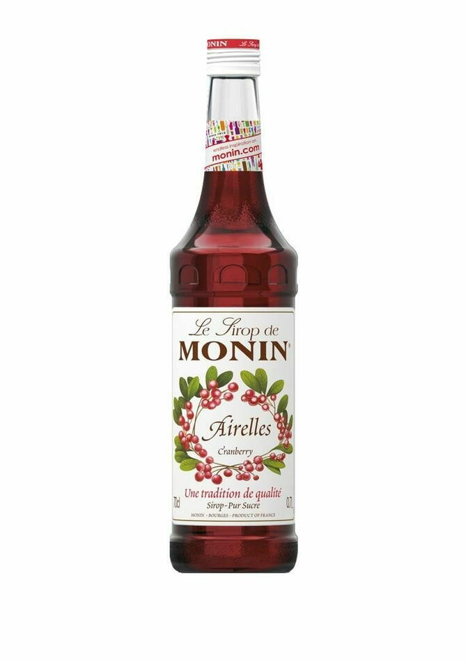 Image of   Monin Syrup Cranberry / Tranebær Fl 70
