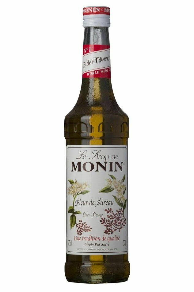 Image of   Monin Syrup Elderflower / Hyldeblomst Fl 70
