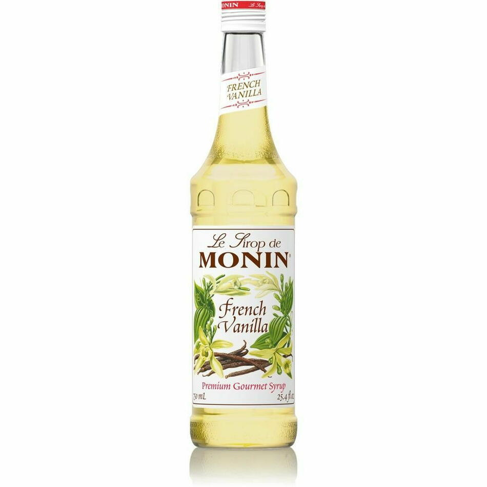 Image of   Monin Syrup French Vanilla / Fransk Vanille Fl 70