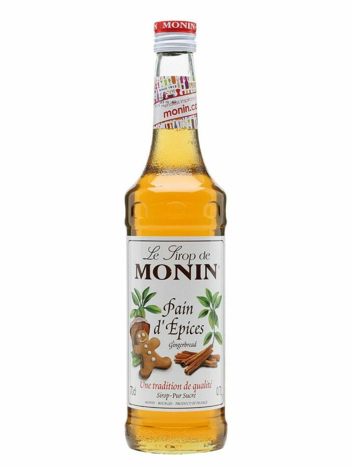 Image of   Monin Syrup Gingerbread / Honningkage Fl 70