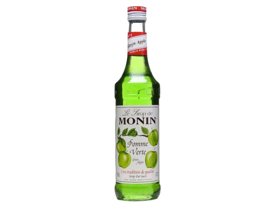 Monin Syrup Green Apple / Æble Fl 70