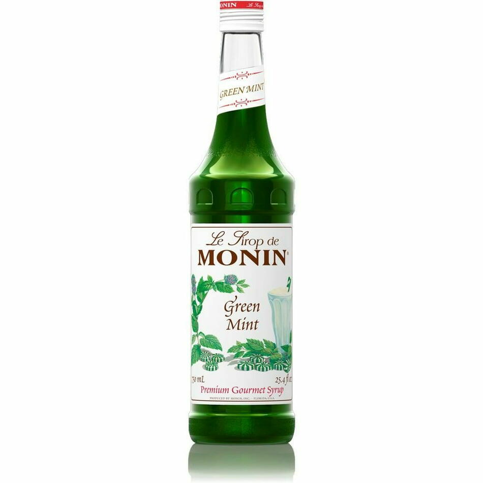 Image of   Monin Syrup Green Mint / Menthe Verte Fl 70