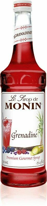 Monin Syrup Grenadine Red Fl 70