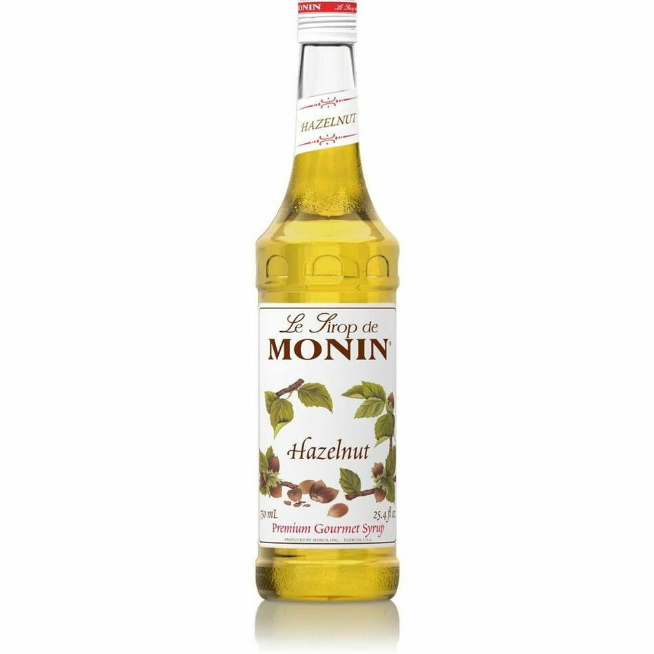 Monin Syrup Hazelnut / Hasselnød Fl 70