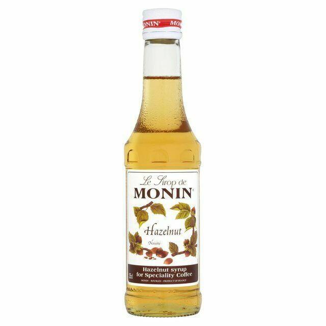 Monin Syrup Hazelnut / Hasselnød Fl 25