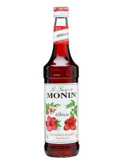 Image of   Monin Syrup Hibiscus Fl 70