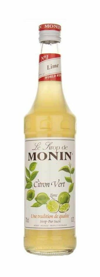 Monin Syrup Lime / Citron Vert Fl 70