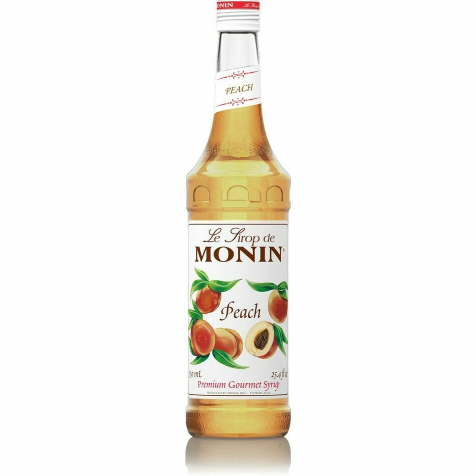 Image of   Monin Syrup Peach / Fersken Fl 70
