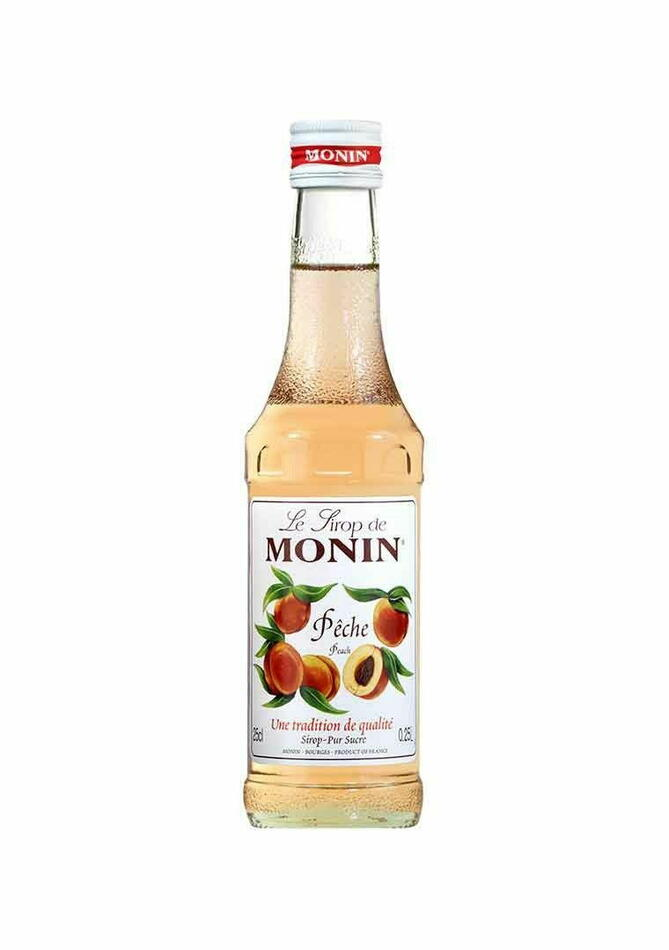 Image of   Monin Syrup Peach / Fersken Fl 25