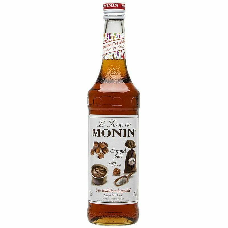 Monin Syrup Salted Caramel / Saltet Karamel Fl 70