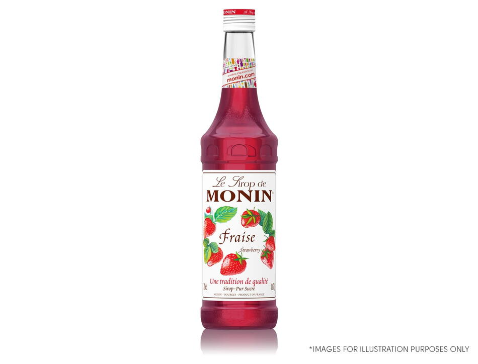 Monin Syrup Strawberry / Jordbær Fl 70