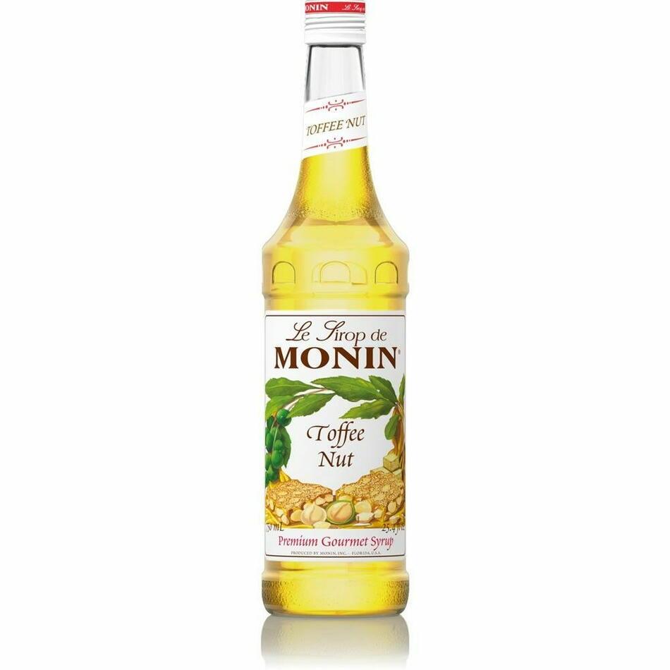 Monin Syrup Toffee Nut / Flødekaramel Fl 70
