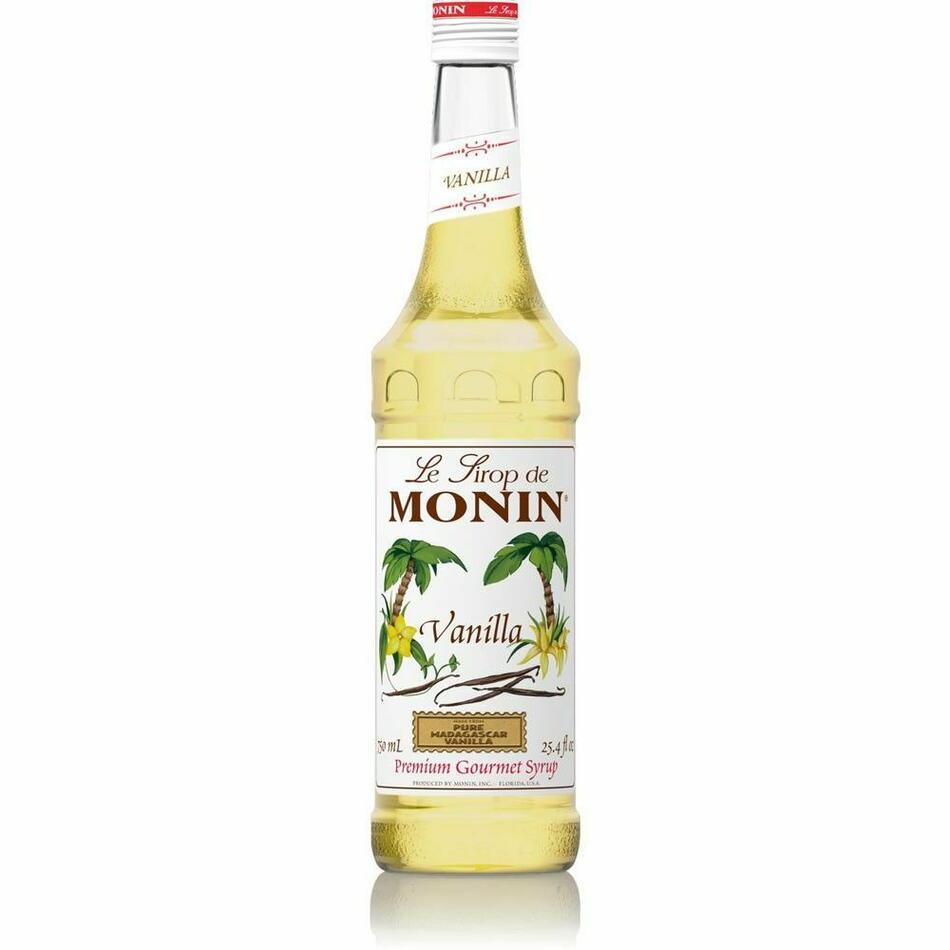 Monin Syrup Vanilla / Vanille Fl 70