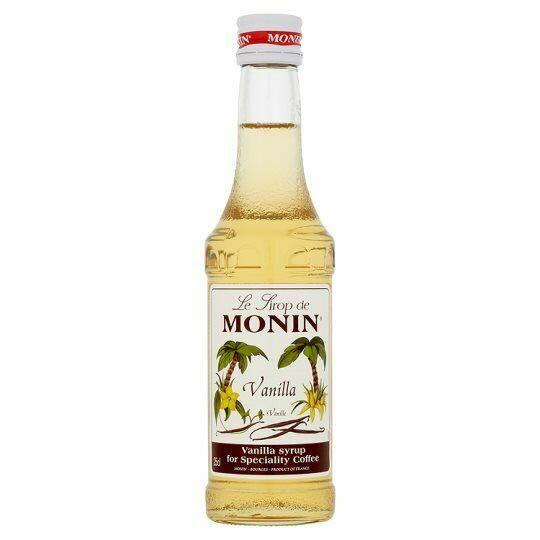 Monin Syrup Vanilla / Vanille Fl 25