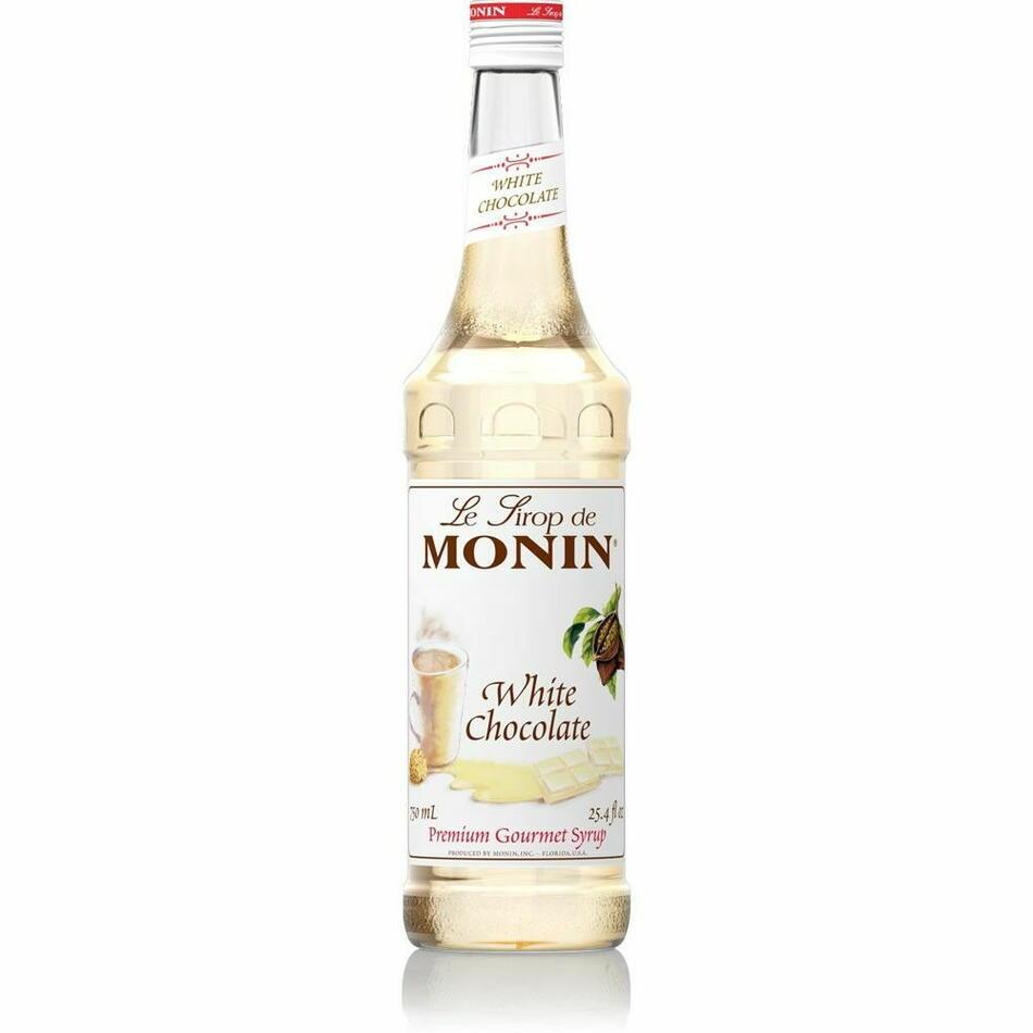 Monin Syrup White Chocolate / Hvid Chokolade Fl 70
