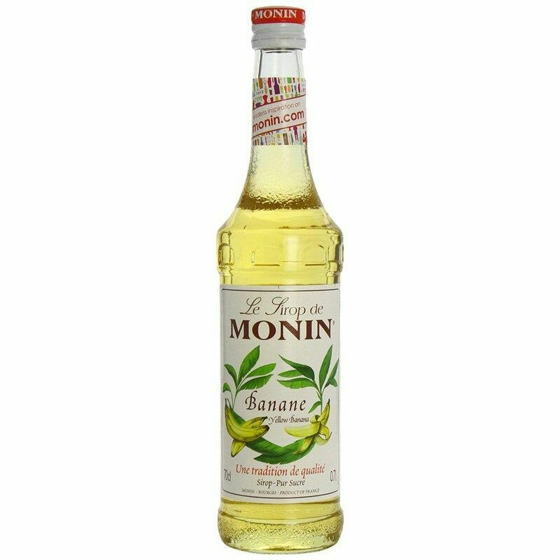 Monin Syrup Yellow Banana / Gul Banan Fl 70